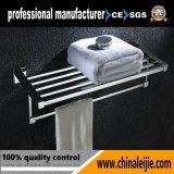 Crémaillère d'essuie-main de double de matériel de salle de bains de modèle moderne
