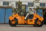 China 10 Tonnen-hydraulische doppelte Trommel-Vibrationsstraßen-Verdichtungsgerät (JM810H)