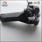 Gancho preto forjado HDG do Pintle da montagem do receptor com a esfera 2-Inch do engate