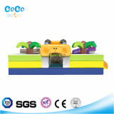 Coco Water Design tema Frog Inflável Bouncer LG9034