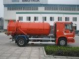 De Vrachtwagen van de Riolering van de Zuiging van het Merk 10-20tons van Sinotruk