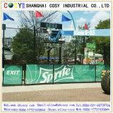 Color Printing18*18, bandera del acoplamiento del PVC 500d