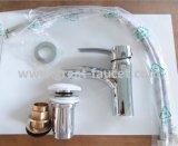 Robinet/taraud en laiton solides de bassin de salle de bains avec la garantie de cinq ans (GL35401A54)