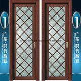Fábrica grande de las puertas interiores de aluminio del cuarto de baño