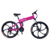 Bici eléctrica plegable proporcionada Ce de la montaña del motor sin cepillo 250W (OKM-714)
