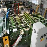El panel que articula la maquinaria que empalma de la chapa de la base de motor servo de la máquina