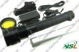 Xénon HID Flashlight Torch 85W 6600mAh Rechargeable Torchlight