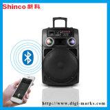 Draagbare Draadloze Luidspreker Bluetooth met het LEIDENE Licht van de Disco
