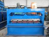 Mattonelle d'acciaio del tetto del metallo che formano macchina