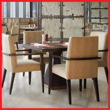Jogo moderno de madeira da mobília do restaurante da cadeira de tabela da sala de jantar