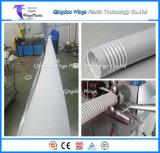 Plastikventilations-Leitung-Rohr, das Rohr-Strangpresßling-Zeile der Maschinen-/pp. Draht verstärkte wickelnde bildet