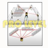 Automatisches Nivellierenökonomische Drehlaser-Stufe (SRE-205)