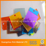 hoja del espejo del color del espesor de 1-6m m/hoja plástica de acrílico del espejo de PMMA