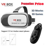 공장 Supply 3D Head Mount Vr Box 제 2 Generation Virtual Reality Vr Glasses & Bluetooth Remote Control