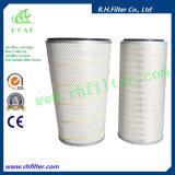 Cartucho de filtro solar de la toma de aire de la turbina de gas