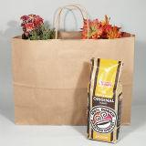 Bolsa de papel de la manera que hace compras de la falda promocional de Custo y comprador de papel juguetón grande de Polkadot