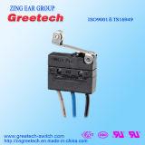 Mini micro interruptor impermeável com o cUL CQC ENEC do UL aprovado