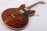 Guitare électrique grande de musique/jazz de la coutume Es335 (TJ-224)