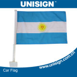 Unisign Hot Selling Car Flag com Customized Size e Design (UCF-1)