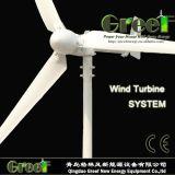 Turbina de vento 600W horizontal de venda quente com certificado da BV