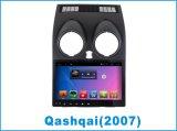 Véhicule androïde DVD pour Qashqai 2007 avec le joueur de GPS Navigatio
