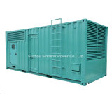 500kw - 2000kw Containerized 방음 디젤 엔진 발전기 세트