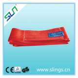 5t * 8m Red Endless Lifting Polyester Webbing Sling