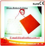 220V 200W 200*200*1.5mm Verwarmer van de Printer van het Silicone de Rubber 3D