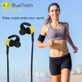 Fone de ouvido estereofónico de venda superior de Bluetooth do esporte do som da música