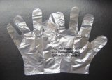 Дешевые прозрачные устранимые пластичные индивидуальные упакованные перчатки