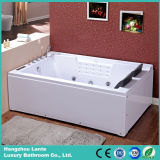 Banheira nova da massagem do Jacuzzi do diodo emissor de luz do luxo 2016 (TLP-672)