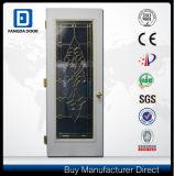 Porte en verre décorative en acier de service de Fangda