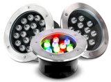 6W 9W 12W 18W 24W IP65 imperméabilisent la lumière souterraine de DEL avec Ce/RoHS