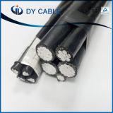 Кабель для воздушных линий ABC проводника изоляции PVC ASTM алюминиевый