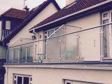 주거 발코니 건축 철도망 또는 주거 방책 또는 Decking 유리 난간