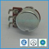 Potentiomètre rotatif 16 mm B50k B100k pour équipement audio