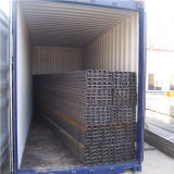 Pipe Q235 en acier soudée par carbone pour la construction