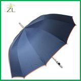 Дешевые изготовленный на заказ выдвиженческие зонтики гуляя ручки печатание прямые с логосом