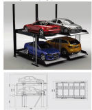 Sistema de estacionamento automatizado rotativo vertical