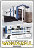 Máquina que corta con tintas plana para el empaquetado del rectángulo del cartón de la cartulina
