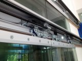 Operadores de cristal de la puerta deslizante de Frameless