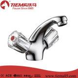 Латунный Faucet тазика ручки патрона 2 (ZS57003-570)
