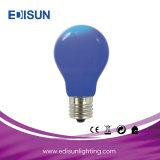 Ampola colorida do diodo emissor de luz do diodo emissor de luz A60 6W E27 para a decoração