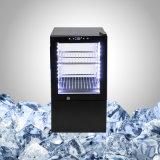 Piccolo frigorifero di vetro libero commerciale nel colore nero o speciale