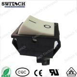 Autoteile Illuminated Staub-Proof Waterproof Miniature Rocker Switch Used SGS-Electronical in Machine