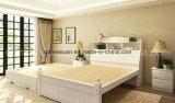 固体木のベッドの現代ダブル・ベッド(M-X2271)