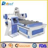Möbel-Produktionszweig Engraver-Fräser CNC Woodworing Maschine Dek-1325 des Panel-3D ATC-Cente