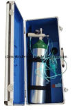 Zak-type het Systeem van de Levering van de Zuurstof van het Aluminium (2.5L Geplaatst)