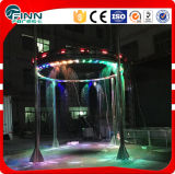 Pendurado ao ar livre Indoor Graphical Water Musical Digital Fountain
