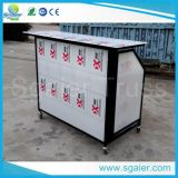 Акриловое Board Portable Bar с Wheels и Ice Bins